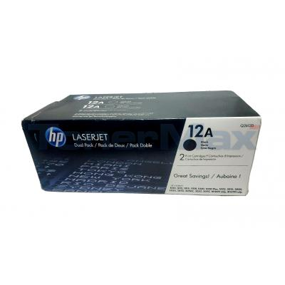 HP NO 12A PRINT CARTRIDGE DUAL PACK